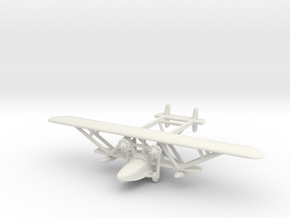 1/285 (6mm) Sikorsky RS-3 in White Natural Versatile Plastic