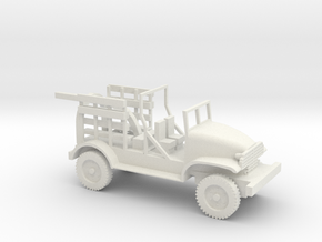 1/72 Scale Chevy M6 Bomb Servicing Truck in White Natural Versatile Plastic