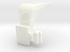 Shimano Pro Saddle / Bontrager Flare Mount in White Processed Versatile Plastic