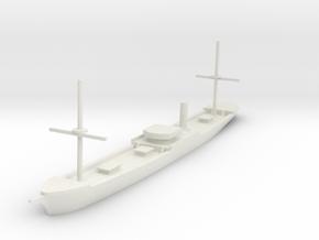 Preussen Steamer in White Natural Versatile Plastic: 1:700