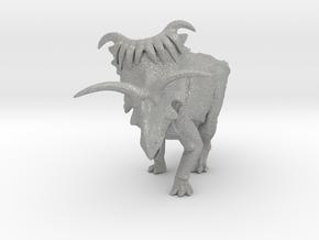 Kosmoceratops 1/72 Krentz in Aluminum