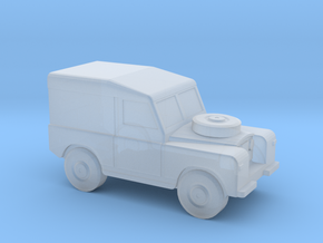 350 scale Landrover Mk1 in Smoothest Fine Detail Plastic