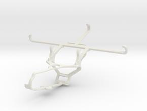 Controller mount for Steam & TECNO Phantom 9 - Fro in White Natural Versatile Plastic