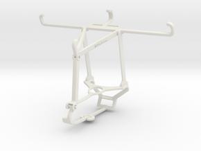 Controller mount for Steam & Xiaomi Mi A3 - Top in White Natural Versatile Plastic