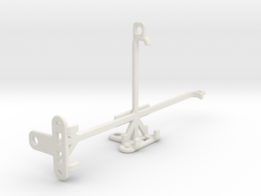 TECNO Phantom 9 tripod & stabilizer mount in White Natural Versatile Plastic