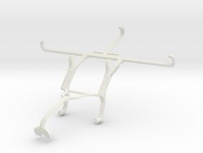 Controller mount for Xbox 360 & TECNO Phantom 9 in White Natural Versatile Plastic