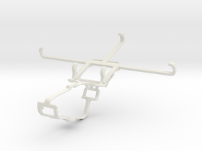 Controller mount for Xbox One & T-Mobile Revvlry+ in White Natural Versatile Plastic