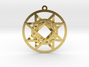 The Signet of Melchizedek v2 in Polished Brass