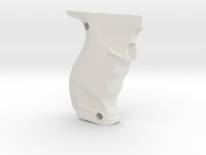 Parma-MB Slot Grip/Handle Impugnatura(Right Shell) in White Natural Versatile Plastic
