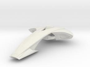 "Atrox Carrier 5.6"" in White Natural Versatile Plastic"