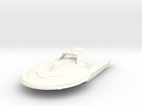 Celsior Class HvyDestroyer in White Strong & Flexible Polished