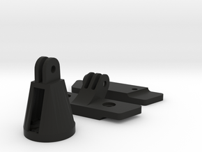 Saddle Gopro Extension + Varia Adapter in Black Natural Versatile Plastic