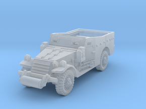 M3A1 Scoutcar late (open) 1/87 in Smooth Fine Detail Plastic