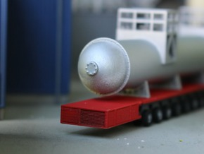 N Scale SPMT 6 + PPU in Smooth Fine Detail Plastic