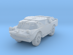 BRDM 2 Sagger (closed) 1/120 in Smooth Fine Detail Plastic