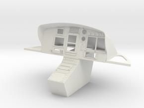 B3e-Cockpit AS350 M1:6,7 in White Natural Versatile Plastic