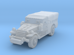 M3A1 Scoutcar late (closed) 1/160 in Smooth Fine Detail Plastic