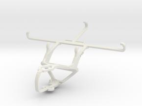 Controller mount for PS3 & TECNO Phantom 9 in White Natural Versatile Plastic