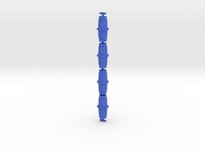 Alphatron Hollow Drums in Blue Processed Versatile Plastic: Medium