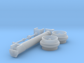 500 Small Parts in Smooth Fine Detail Plastic