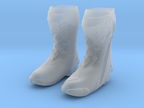 Astar motorcycle boots Large in Smooth Fine Detail Plastic