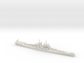 US Worcester-Class Cruiser in White Natural Versatile Plastic