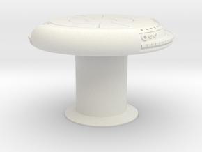 DEJARIKK TABLE DRILLED 1/6 HOT TOYS in White Natural Versatile Plastic