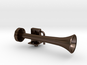 HORN1.5HustlerLeftSide in Polished Bronze Steel