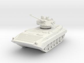 BMP 2 (elevated turret) 1/56 in White Natural Versatile Plastic