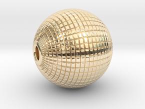 Disco Ball in 14K Yellow Gold