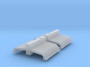 Boxcab Radiators in Smooth Fine Detail Plastic