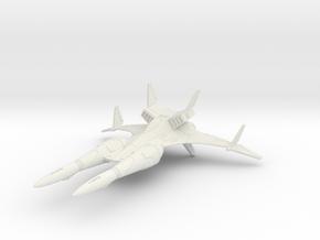 SL-25M Samurai Mk 2 in White Natural Versatile Plastic