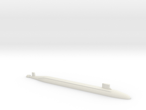 USS Jimmy Carter SSN, 1/1250 in White Natural Versatile Plastic