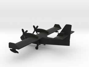 Canadair CL-415 Superscooper (gears down) in Black Natural Versatile Plastic: 1:400