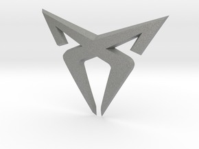 "Pre-Facelift Cupra Front ""S"" Badge - Logo Part in Gray PA12"