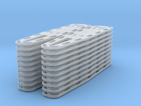 1/35 Spine Board set of 20 in Smooth Fine Detail Plastic