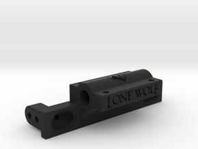 Pro-Line Half cage mount for TRX-4 in Black Natural Versatile Plastic