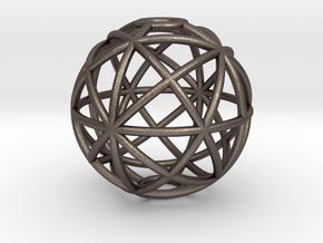 torus_pearl_type4_ultrathin in Polished Bronzed-Silver Steel