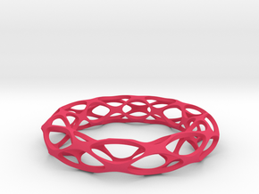 Bracelet Popular in Pink Processed Versatile Plastic: Medium