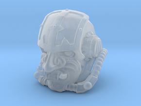 Questor bushido head in Smooth Fine Detail Plastic