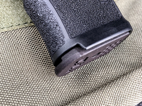 Polymer or Steel XL 12-Round Base pad for SIG P365 in Black PA12