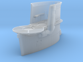 1/48 DKM Uboot VIIB Conning Tower in Smooth Fine Detail Plastic