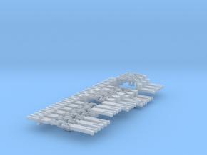 NEM OO 3 Link & Instanter Couplings - Adv'd Sample in Smooth Fine Detail Plastic