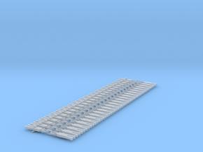 NEM OO Type 16 Couplings - Strait 3 Link x25 in Smooth Fine Detail Plastic