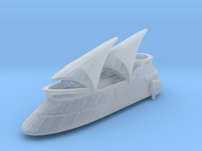 Jabba`s Khetanna sail barge  in Smooth Fine Detail Plastic