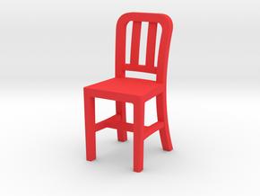 redChair3 in Red Processed Versatile Plastic