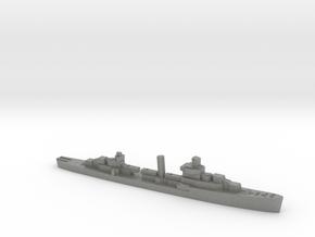 USS Sampson destroyer 1940 1:2400 WW2 in Gray PA12
