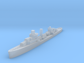 USS Warrington destroyer 1940 1:2400 WW2 in Smoothest Fine Detail Plastic