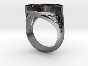 J-10-75 in Polished Silver