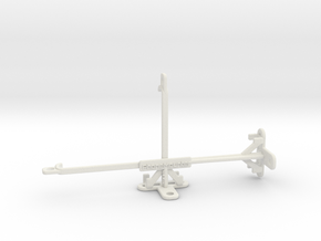 Honor 9X Pro tripod & stabilizer mount in White Natural Versatile Plastic
